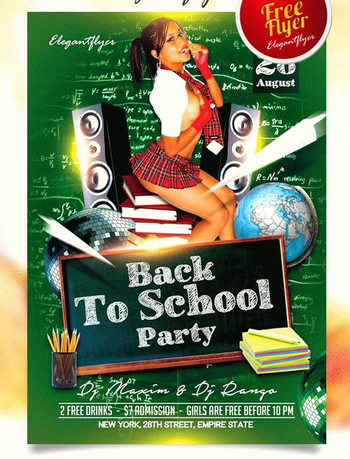 16 Free Back to School Flyer Psd Templates Designyep