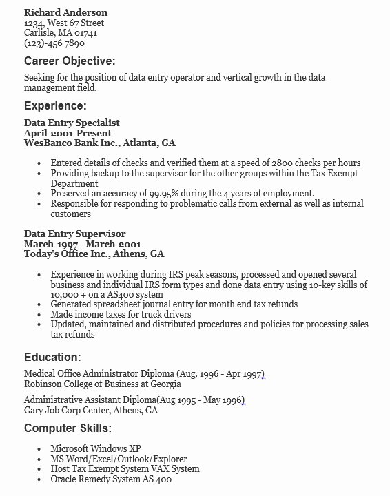 100 Ideas to Try About Resume Sample Template and format – Latter ...