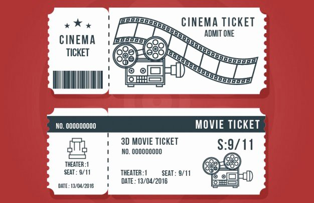 16 Free Ticket Design Templates for Download Designyep