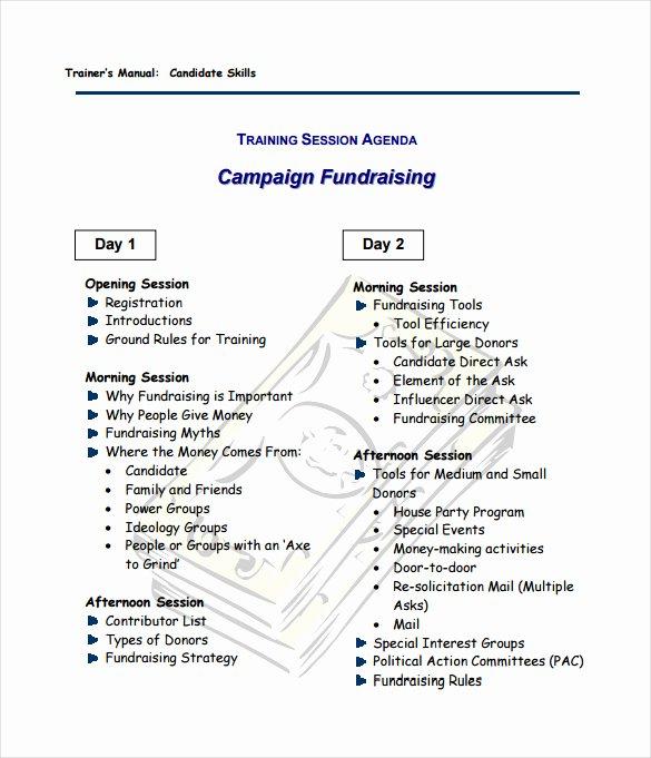 16 Fundraising Plan Templates Free Sample Example