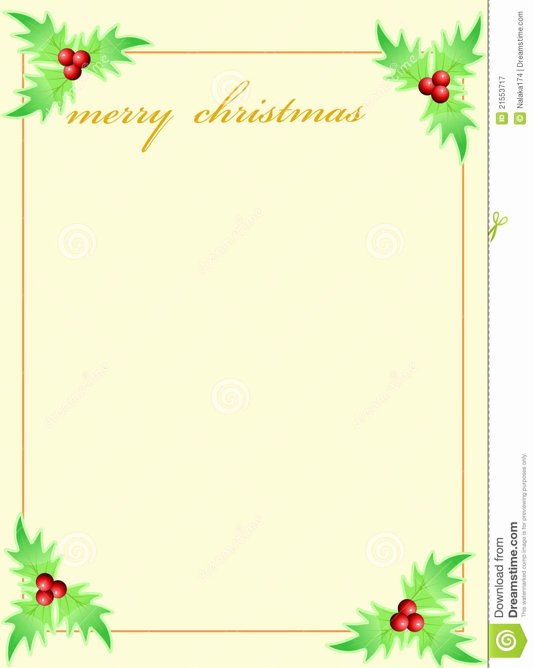 16 Holiday Greeting Card Template Free Christmas
