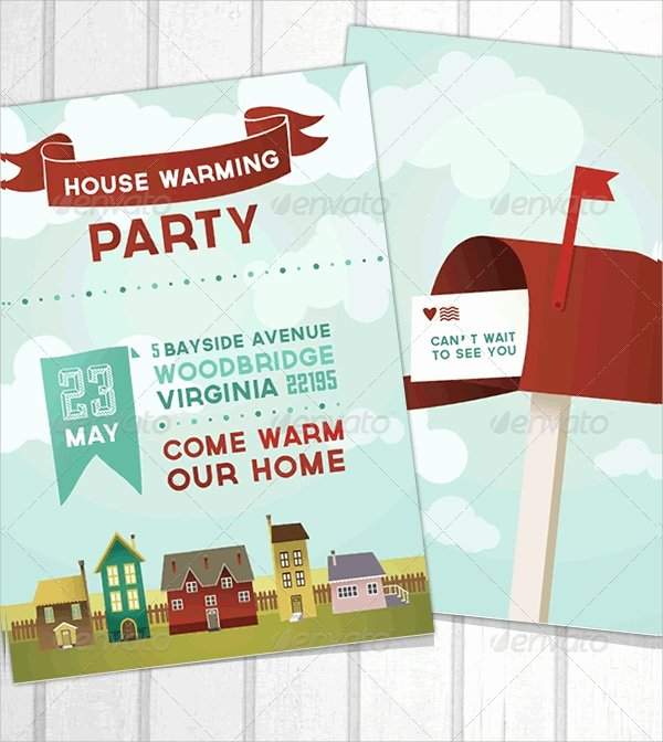 16 Housewarming Invitation Templates