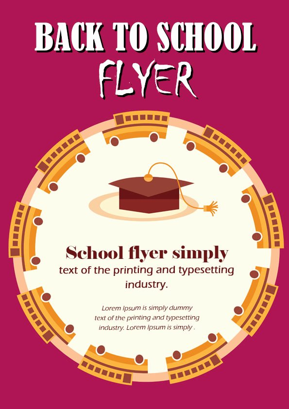 16 Impressive Back to School Flyers In Psd Word & Ppt