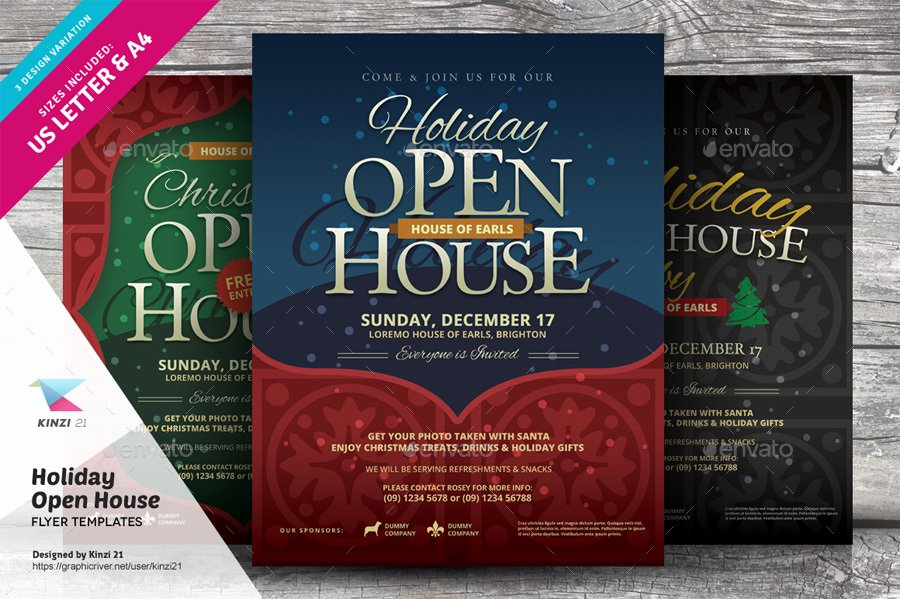 16 Open House Flyer Designs & Examples – Psd Ai