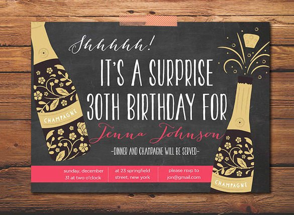 16 Outstanding Surprise Party Invitations & Designs
