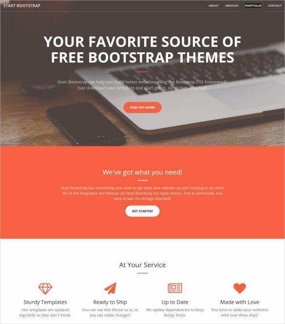 16 Portfolio Bootstrap themes & Templates