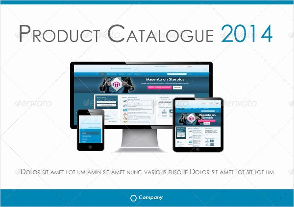 16 Product Catalogue Template Free Sample Example
