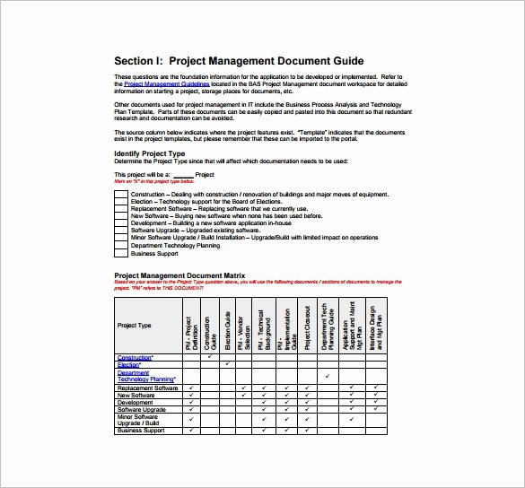 16 Project Management Plan Templates Free Sample