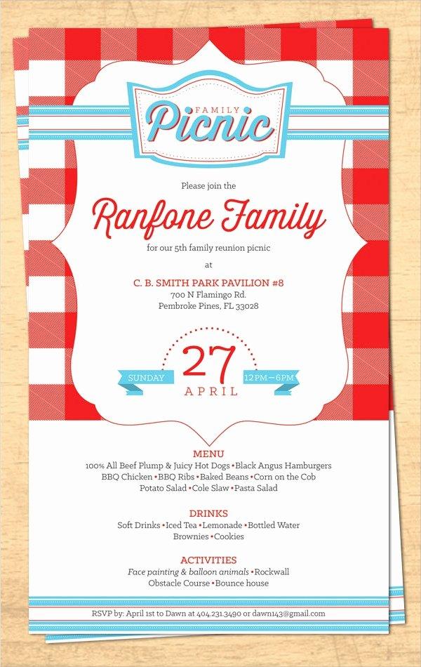 16 Sample Family Reunion Invitations