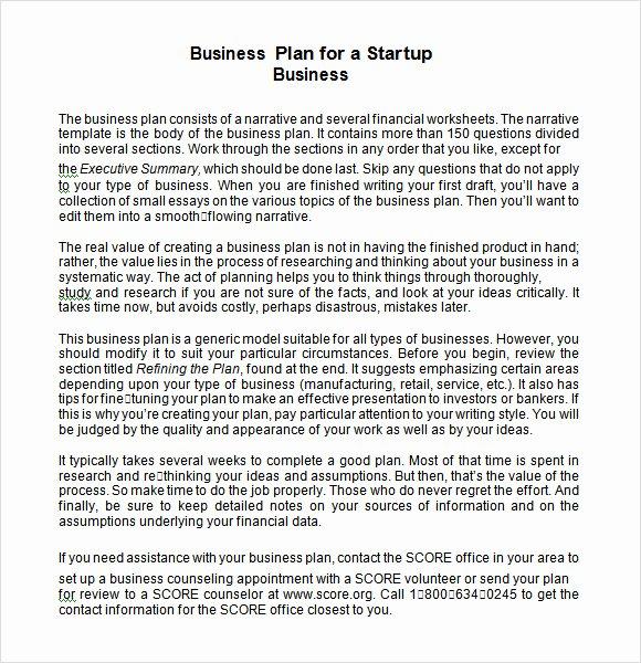 16 Sample Startup Business Plan Templates