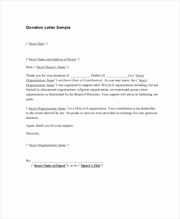 16 Sample Thank You Letters for Donations Doc Pdf
