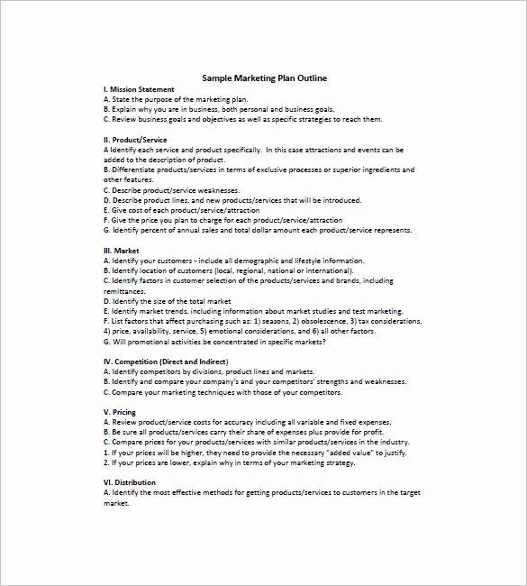 16 Simple Marketing Plan Templates Doc Pdf