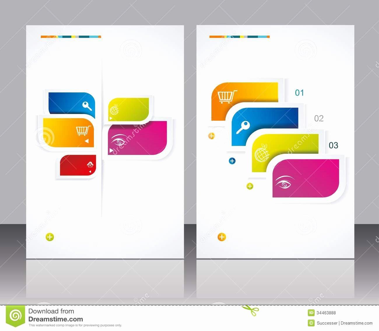 16 Vector Brochures Templates Free Vector