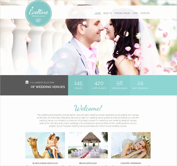 16 Wedding HTML5 themes & Templates