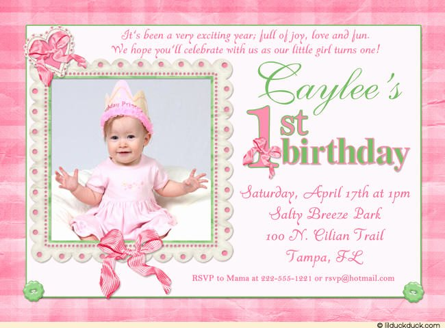 16th Birthday Invitations Templates Ideas 1st Birthday
