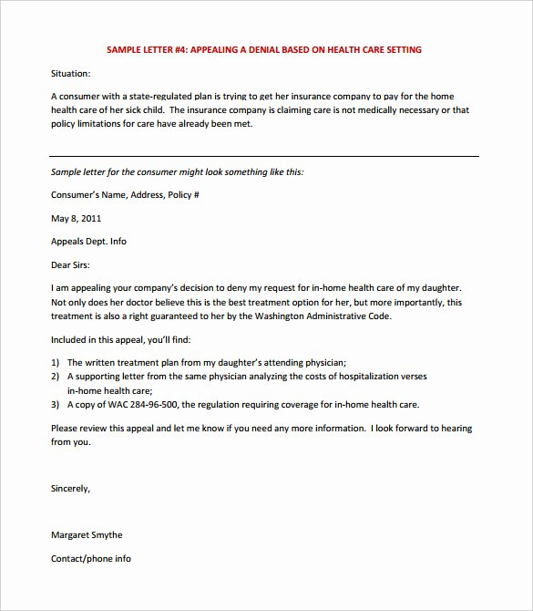 17 Appeal Letter Templates Free Sample Example format
