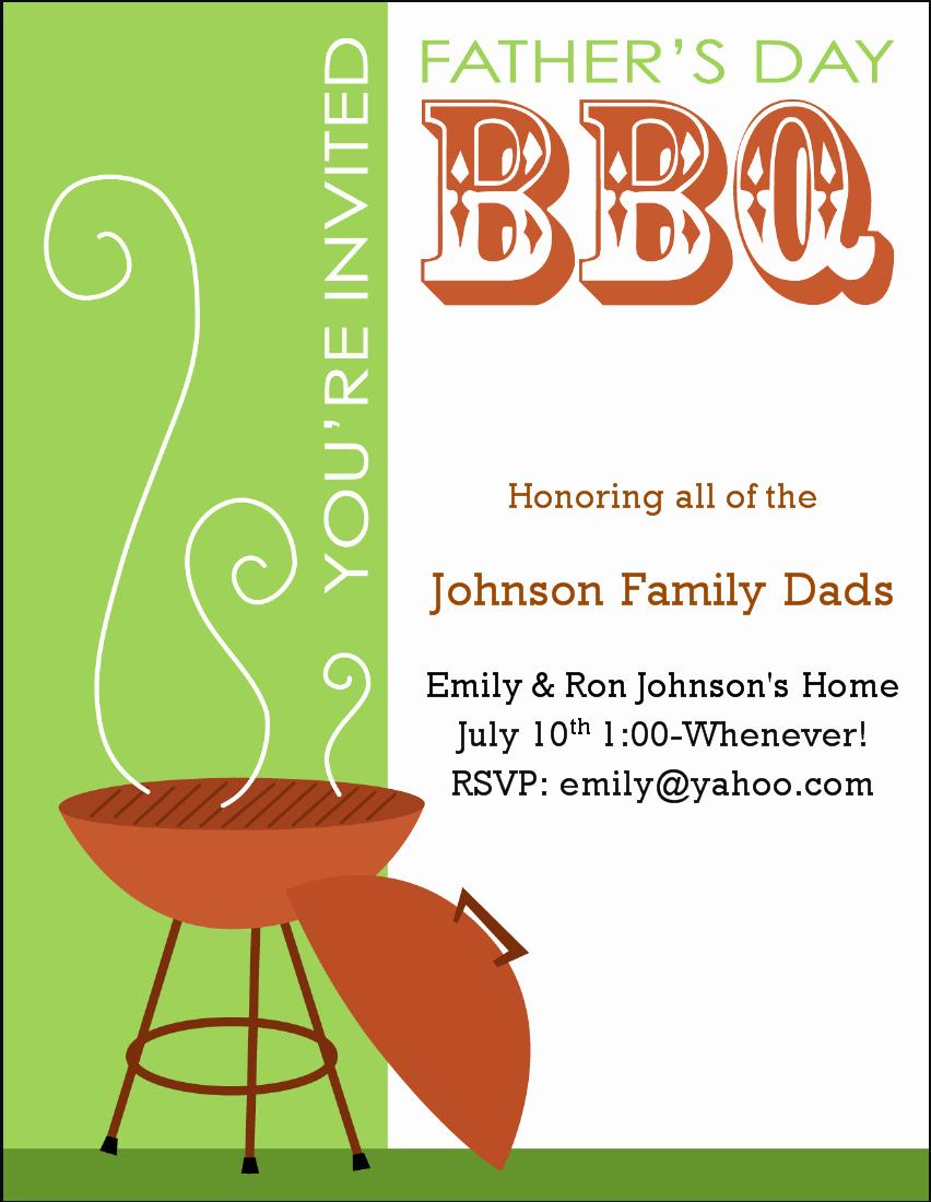 17 Barbecue Invitation Templates Free Download
