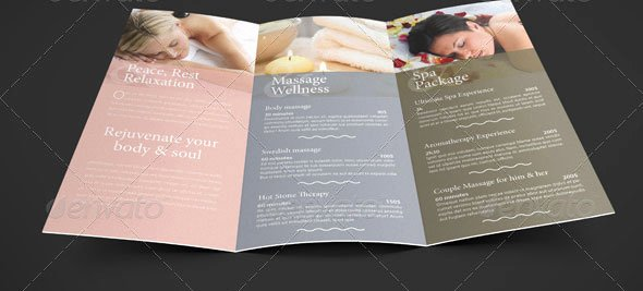 17 Beautiful Spa Brochure Templates – Design Freebies