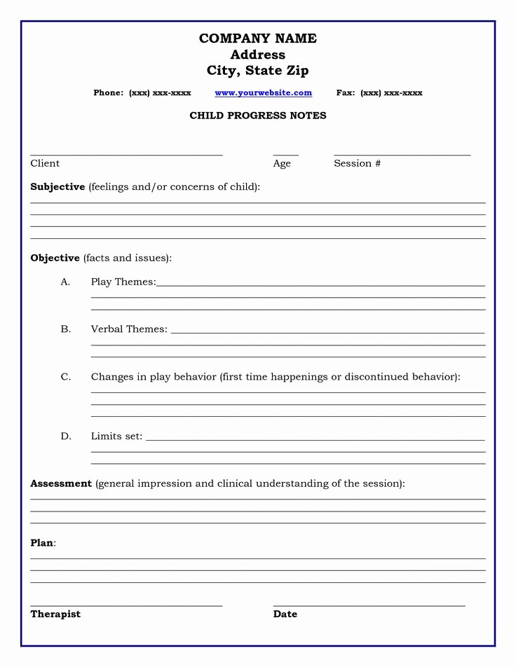 17 Best Free Counseling Note Templates Images On Pinterest