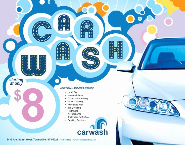 17 Best Images About Car Wash Flyer Inspiration On