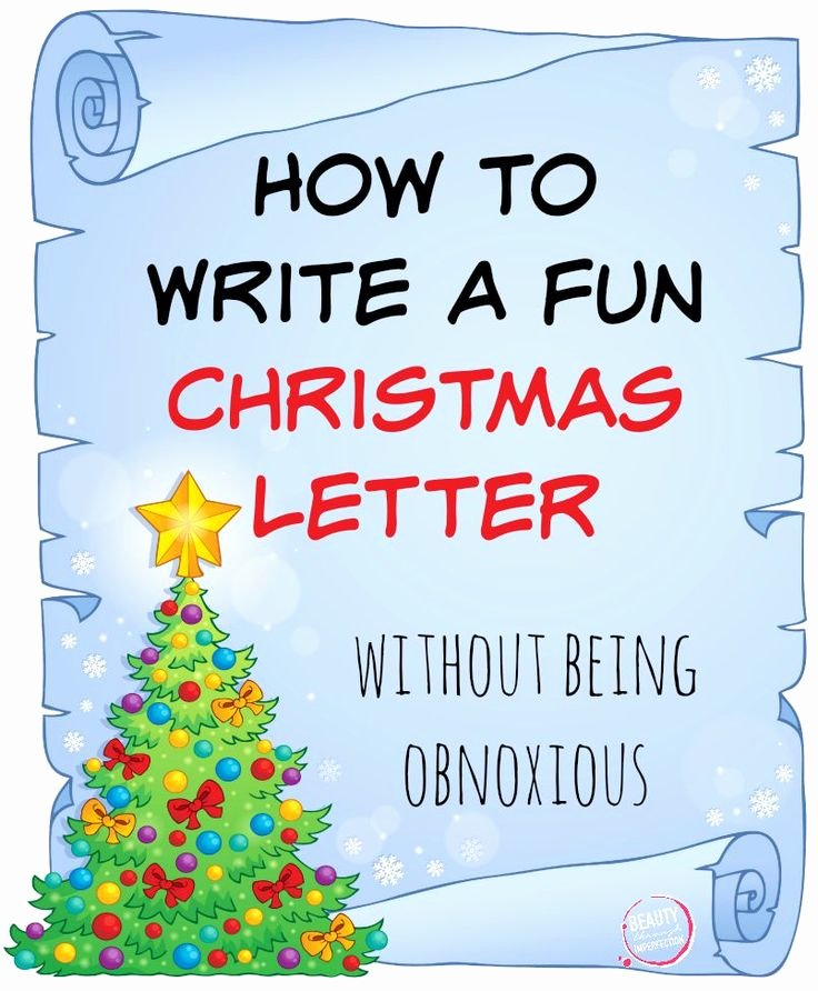 17 Best Images About Christmas Letter Ideas On Pinterest