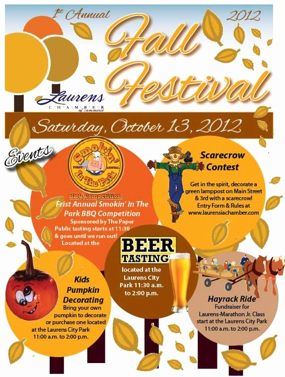 17 Best Images About Fall Festival Flyers On Pinterest