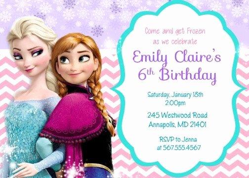 17 Best Images About Frozen Invitations On Pinterest