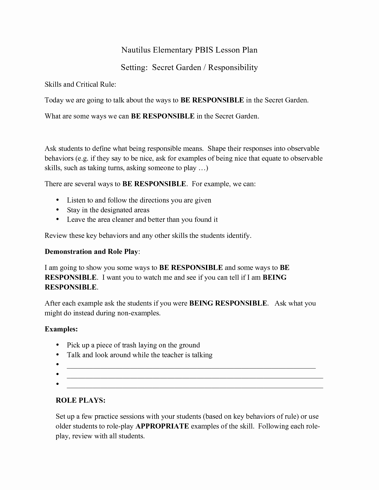 17 Best Of Taking Responsibility Worksheets
