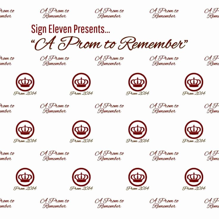 17 Best Prom Step and Repeat Templates Images On Pinterest