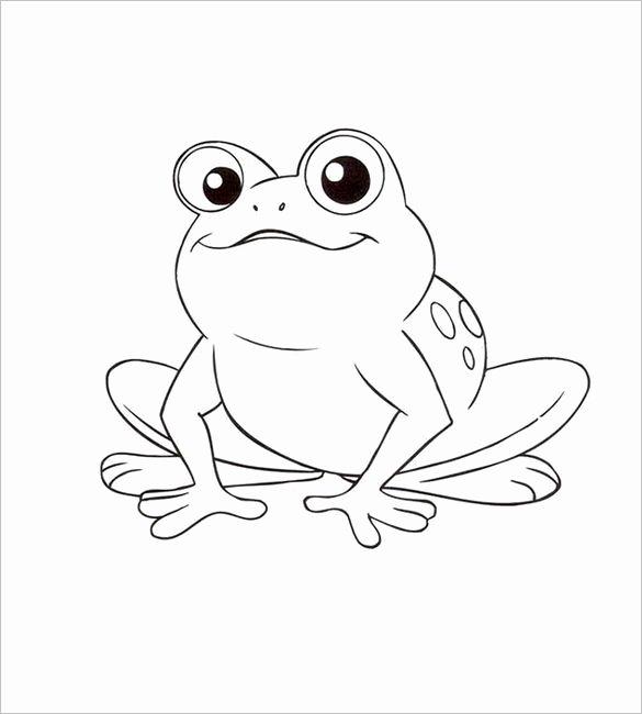 17 Beste Ideer Om Frog Template På Pinterest