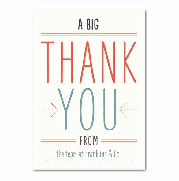 17 Business Thank You Cards Free Printable Psd Eps