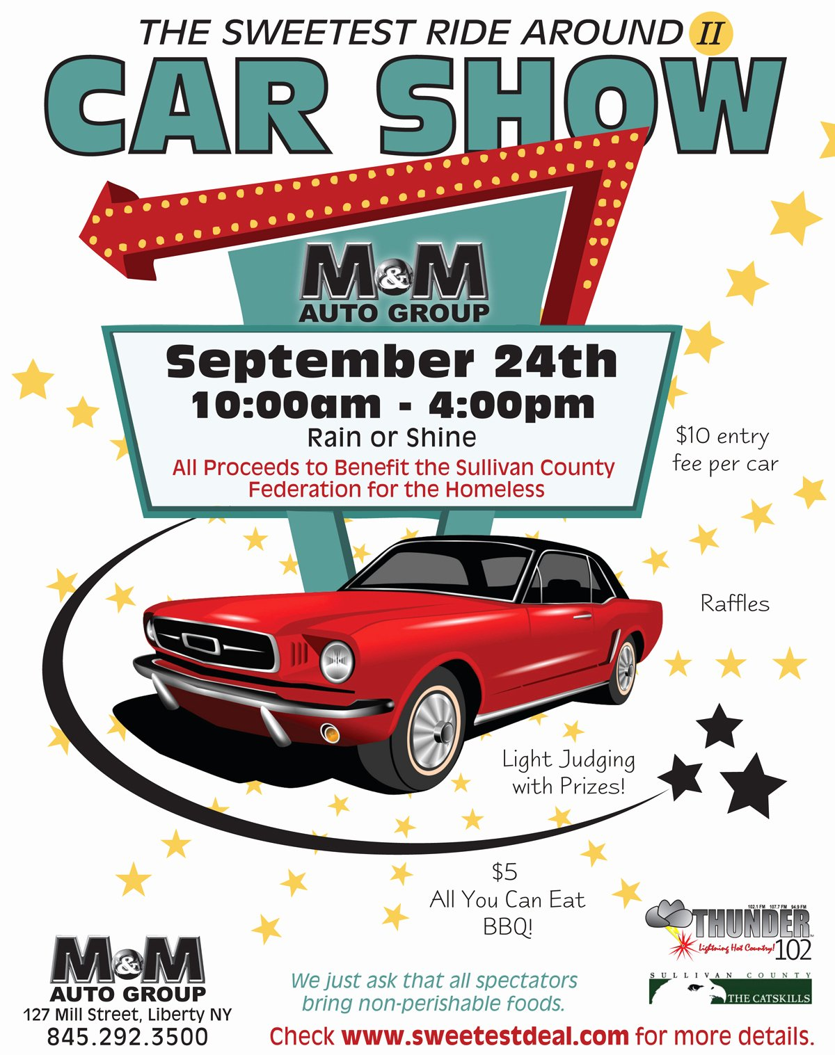 17 Car Show Flyer Template Psd Free Car Show