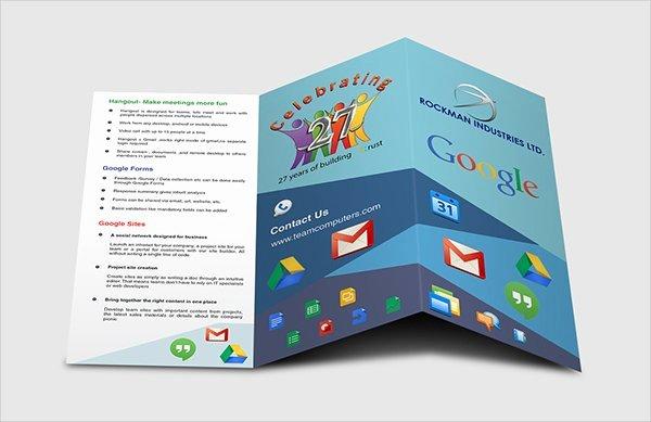 17 Fabulous Google Brochure Templates Psd Ai Indesign