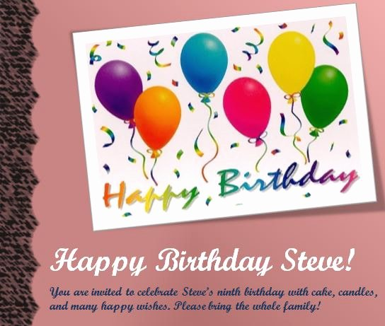 17 Free Birthday Templates for Word Free Birthday