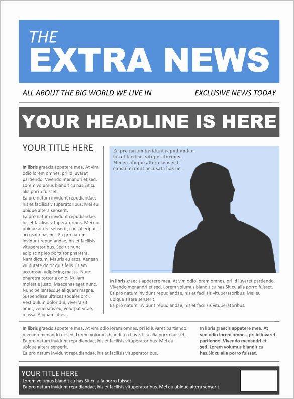 17 Free Newspaper Templates Psd Doc Pdf Ppt