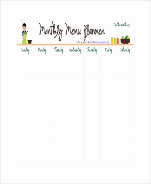 17 Free Planner Samples & Templates