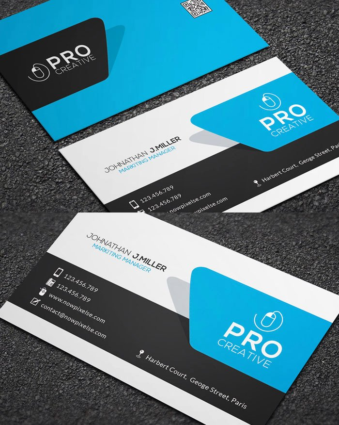 17 Free Psd Business Card Consulting Business