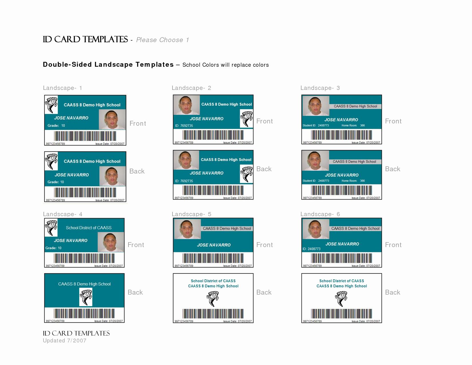 17 Id Badge Template Id Badge Template Microsoft