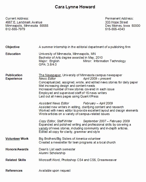 17 Images About Resume Job On Pinterest