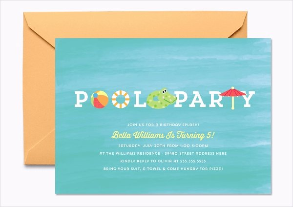 17 Kids Party Invitation Designs & Templates Psd Ai