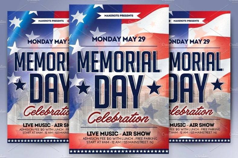 17 Memorial Day Templates