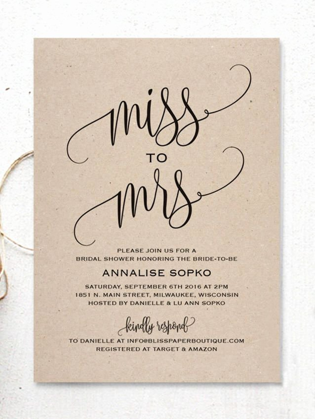 17 Printable Bridal Shower Invitations You Can Diy