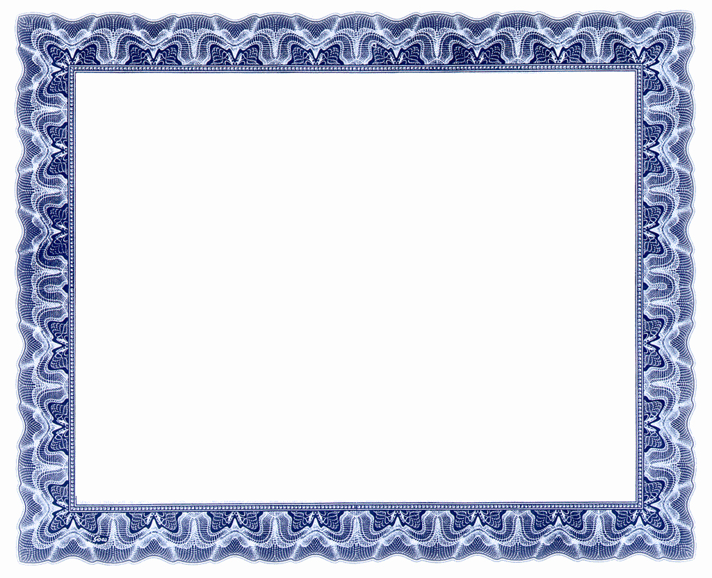 17 Printable Frame Certificates