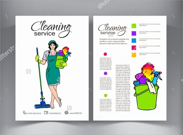 17 Printable House Cleaning Flyers Templates