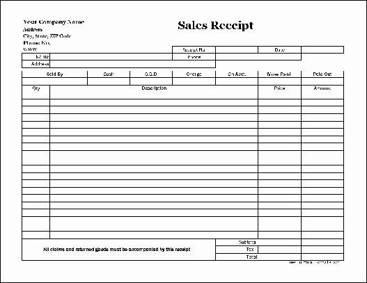 17 Sales Receipt Templates Excel Pdf formats