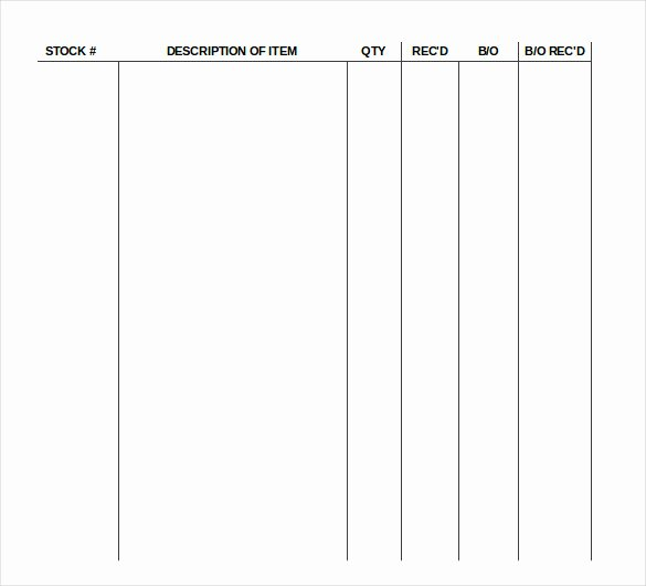 17 Sample Supply Inventory Templates