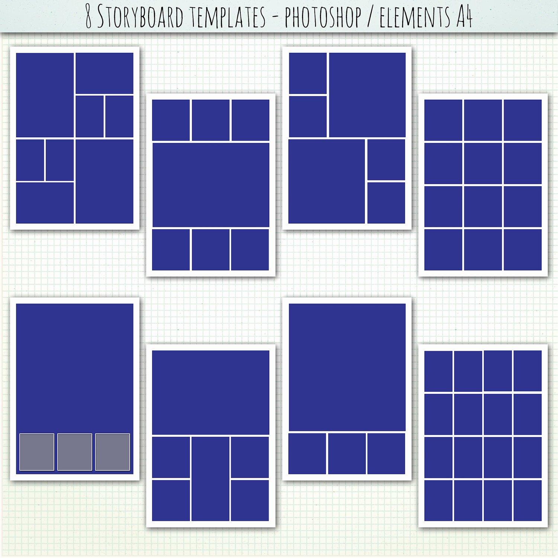 17 Shop Elements Collage Templates Free