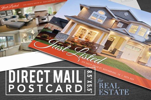 17 Shop Postcard Templates Psd Vector Eps