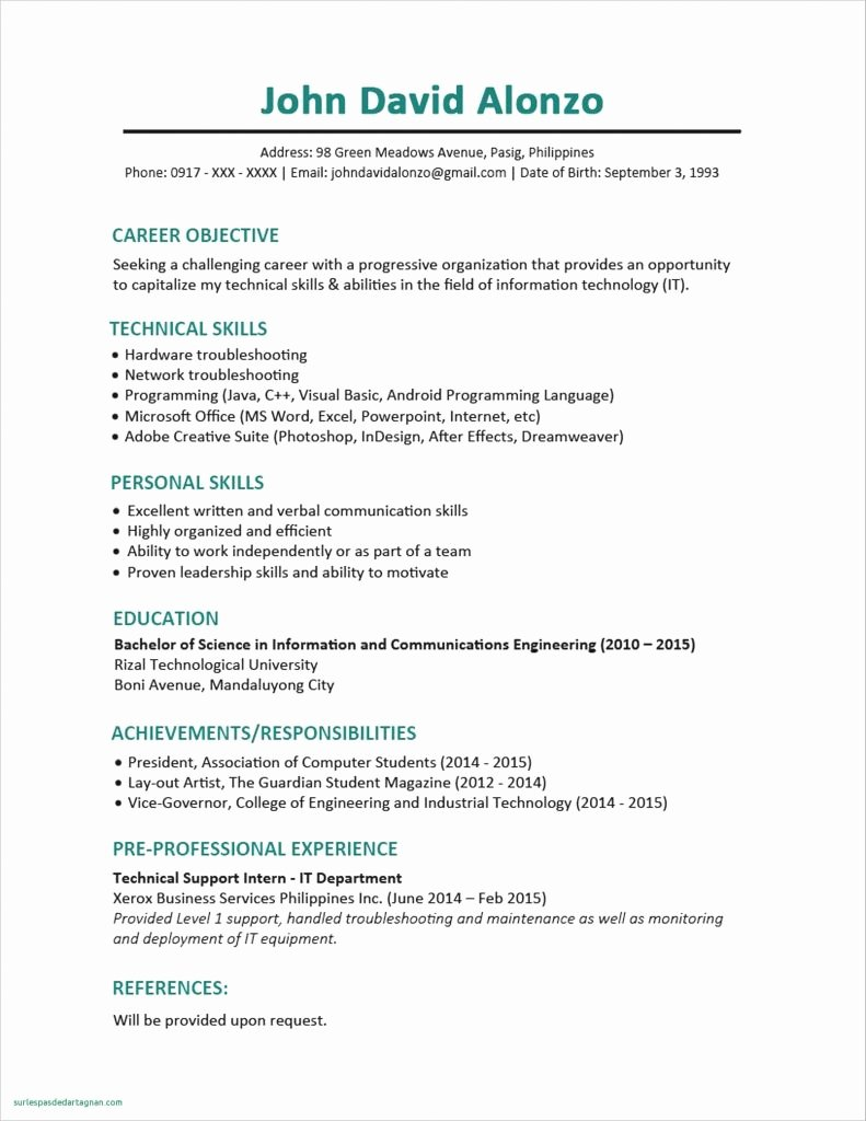 17 Unique How to Email A Resume Ve Aful