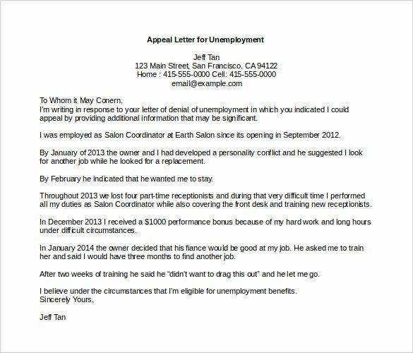 18 Appeal Letter Templates Pdf Doc